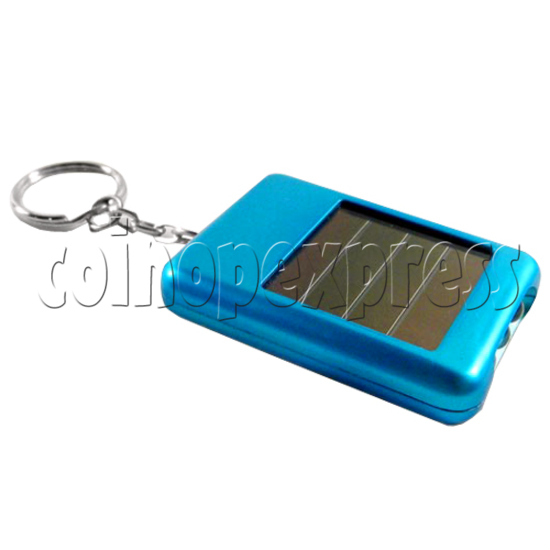 Handy Solar Power Flashlight with Keychain 23878