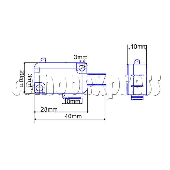 Microswitch for push button 23963