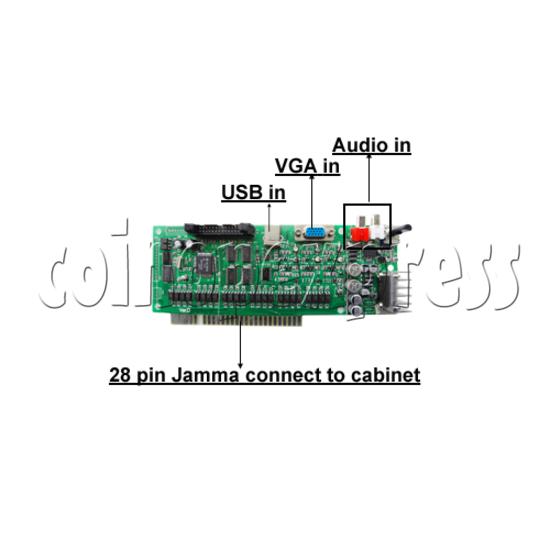 Arcade Jamma IO Board pcb detail
