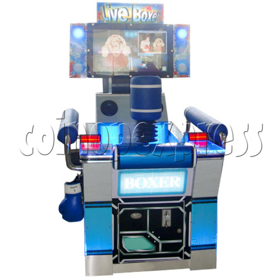 """Punch Machine: 32"""" LCD live boxing 24021"""
