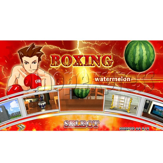 """Punch Machine: 32"""" LCD live boxing 24027"""
