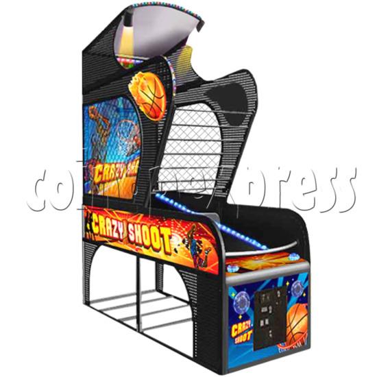 Crazy Shoot Basketball Machine 24289