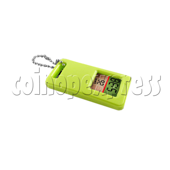 Mini Clock Keyrings With LCD Display 24298