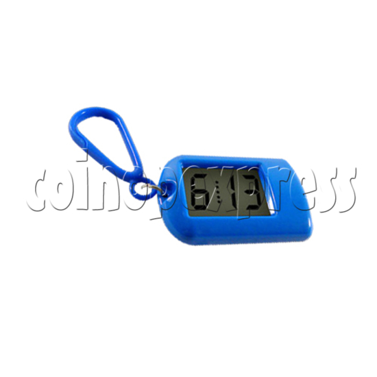 Clock Keyrings In Fashion Blue Color 24312