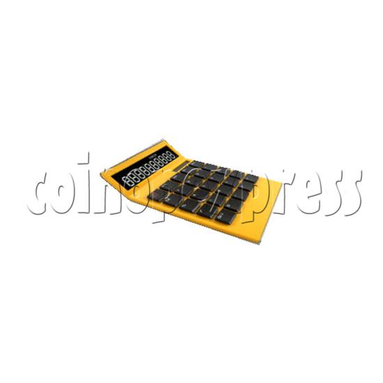 10 Digital Arched Calculator 24379