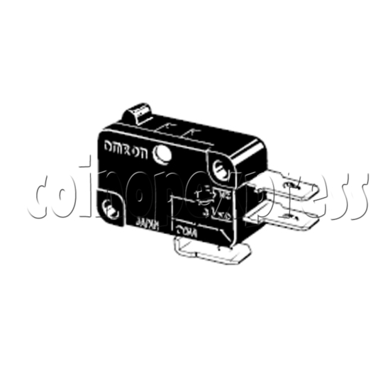 Omron Microswitch for Push Button 24617