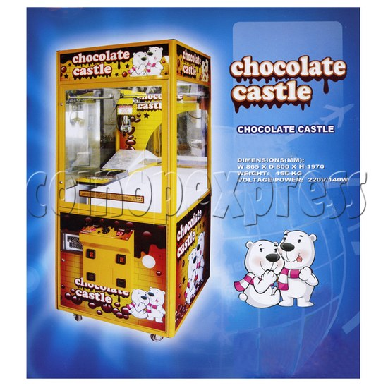 Chocolate Castle Crane Machine 24897