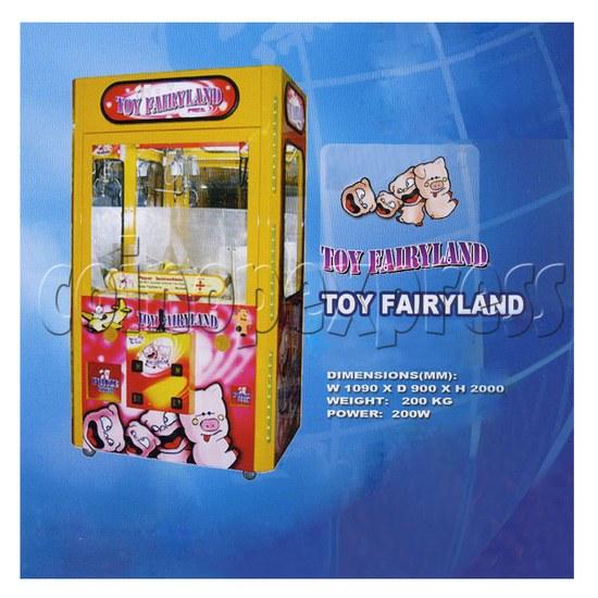 42 inch Toy Fairyland double claw machine 24902