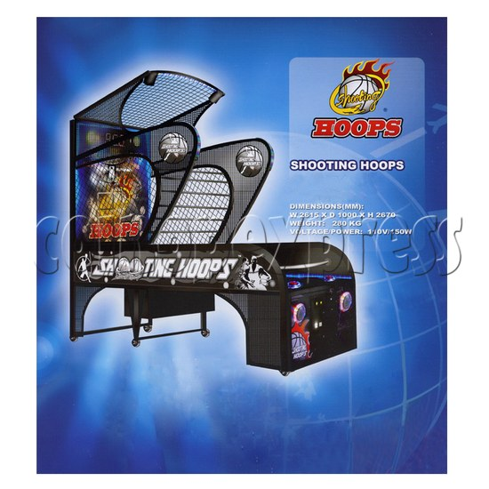 Shooting Hoops basketball machine 24911