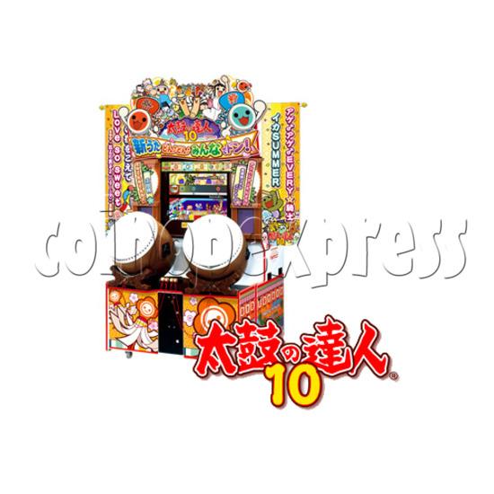 Taiko No Tatsujin 10 Drum Machine 25006