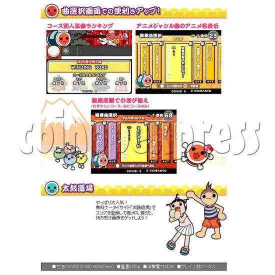 Taiko No Tatsujin 10 Drum Machine 25015
