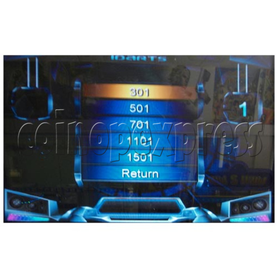 Electronic Dart Machine With Advertising Screen 25111