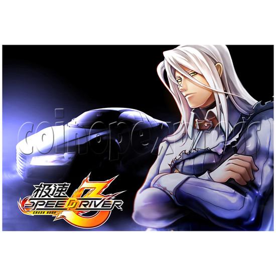 Speed Driver 3 Racing Machine 25127