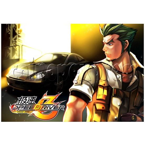 Speed Driver 3 Racing Machine 25129