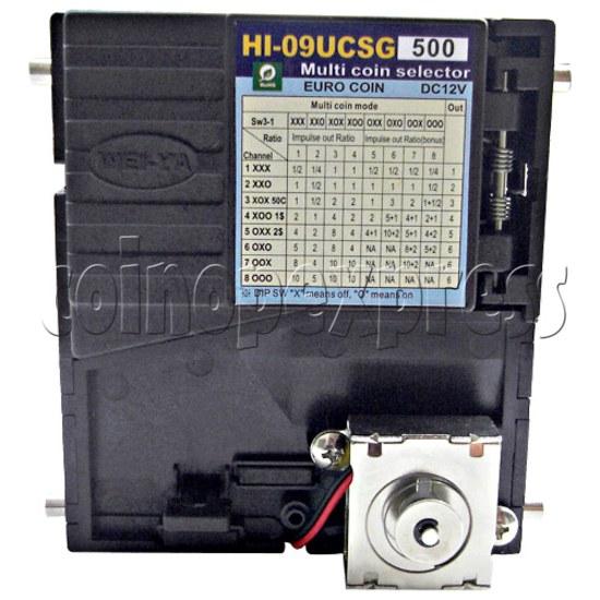 WEIYA multi coin selector HI-09UCS 25193