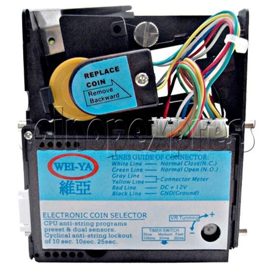 WEIYA CPU comparable electronic coin mech HI-0801CS (EURO type coins) 25223