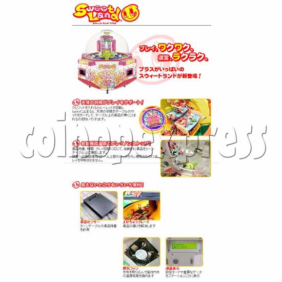 Sweet Land 4 Plus Prize Machine 25316
