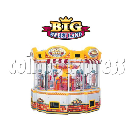 Big Sweet Land With Cooler Prize Machine 25319