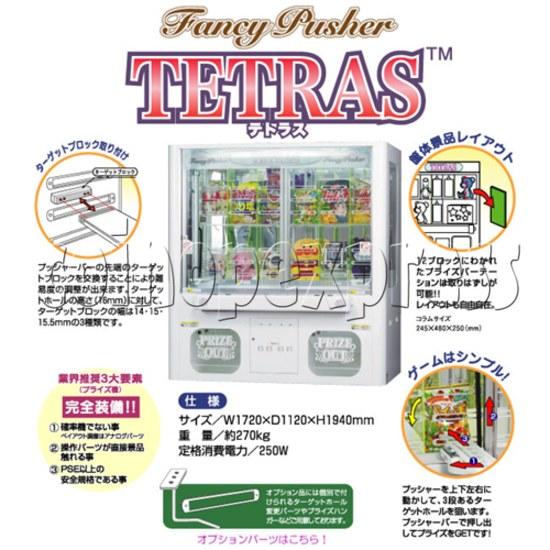 Tetas Jewel Prize Machine 25327