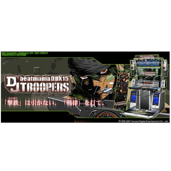 Beatmania II DX 15th DJ Troopers 25516