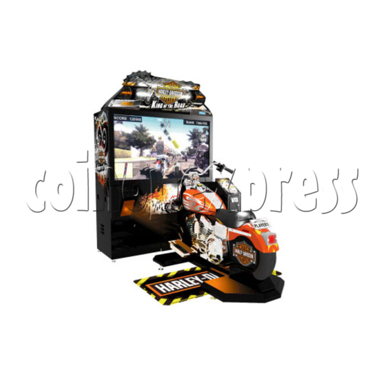 Harley Davidson: King of the Road (55 inch LCD Screen) 25555