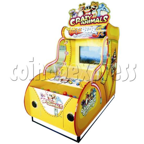 Crazy Animals ball game machine  42 inch monitor 25569
