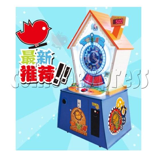 Cuckoo Clock Ticket Redemption Machine 25588