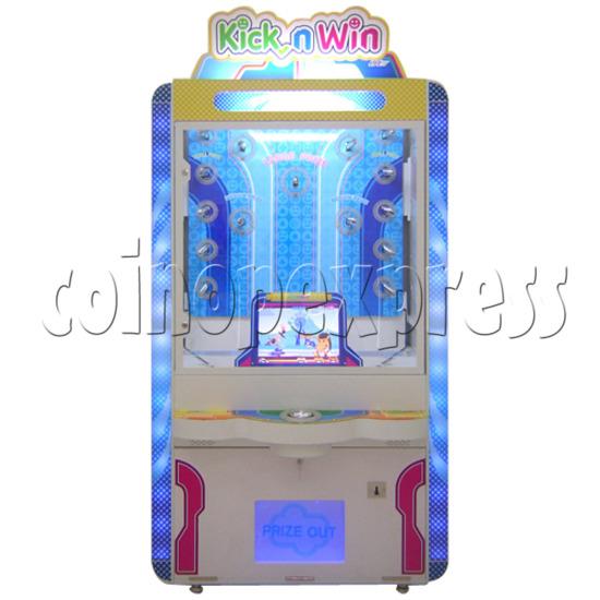 Kick N Win Skill Test Prize Machine 25658