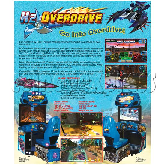 H2 Overdrive SD (37 inch LCD screen) 25660