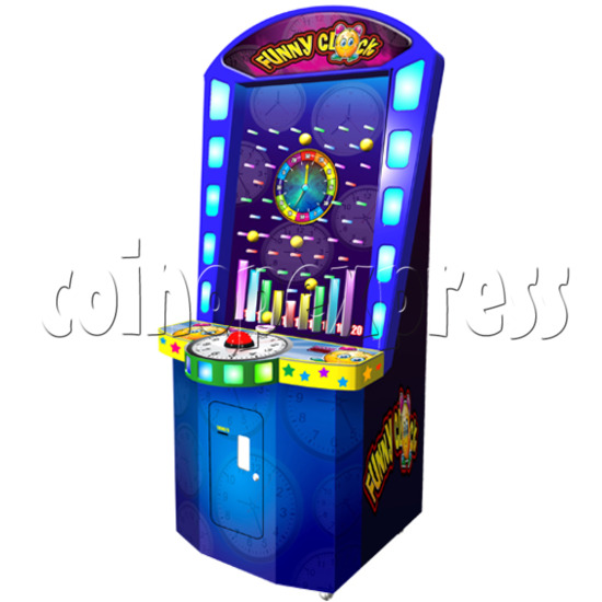 Funny Clock Skill Test Machine 25724