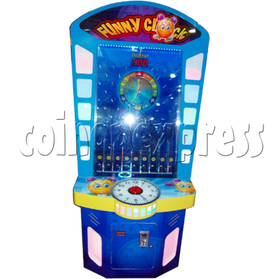 Funny Clock Skill Test Machine 25743