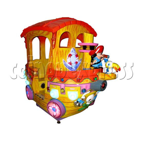Motion Kiddie Ride: Boom Boom Boat 25811