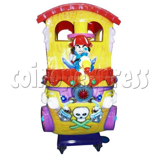 Motion Kiddie Ride: Boom Boom Boat 25812