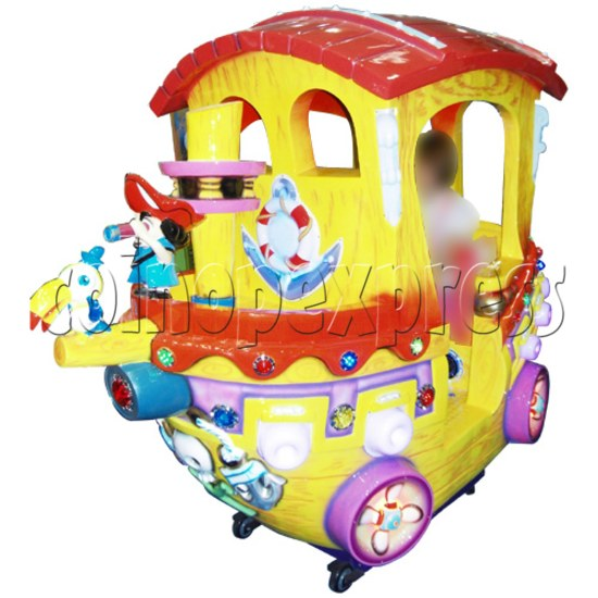 Motion Kiddie Ride: Boom Boom Boat 25813