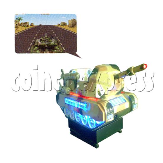 Motion kiddie ride: Funny Tank II 25977