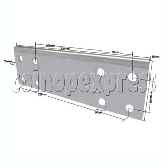 DDR Stage Metal Joint 26056