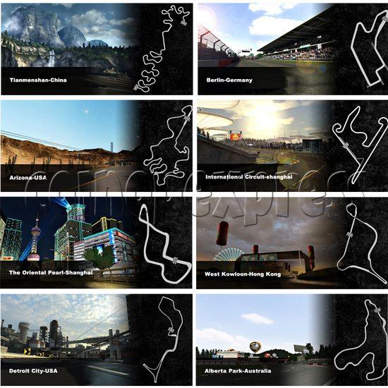 Crazy Speed 3D arcade machine 26142