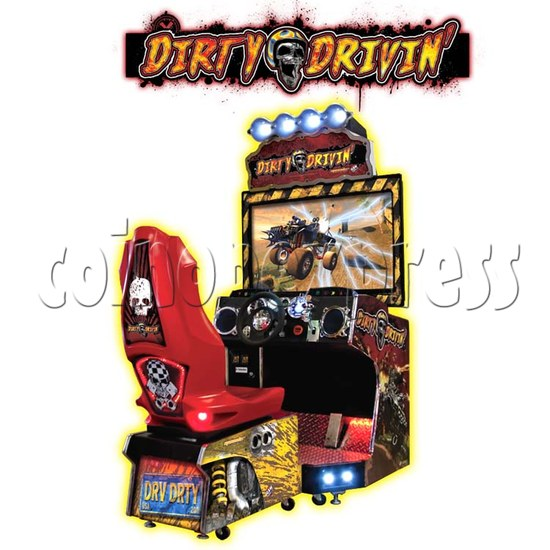 Dirty Drivin Racing Game 26236