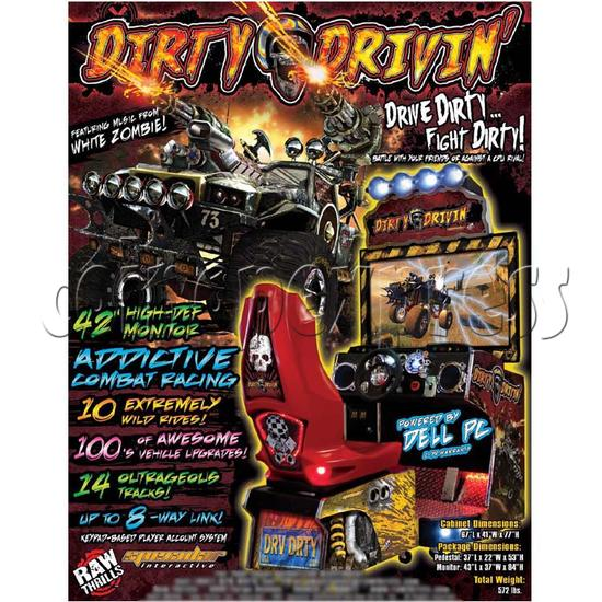 Dirty Drivin Racing Game 26245