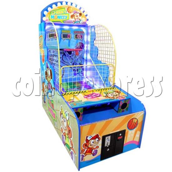 Cheeky Monkey Basketball Ticket Redemption Machine 26274