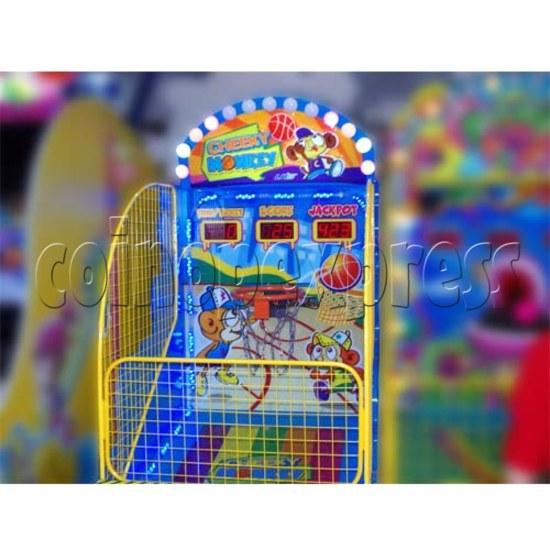 Cheeky Monkey Basketball Ticket Redemption Machine 26277