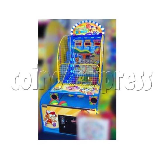 Cheeky Monkey Basketball Ticket Redemption Machine 26278