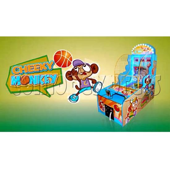 Cheeky Monkey Basketball Ticket Redemption Machine 26280