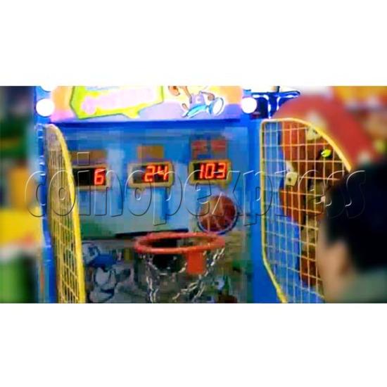 Cheeky Monkey Basketball Ticket Redemption Machine 26281
