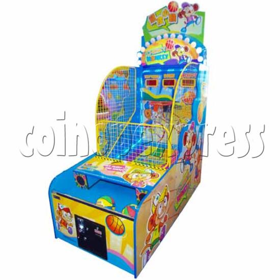 Cheeky Monkey Basketball Ticket Redemption Machine 26765