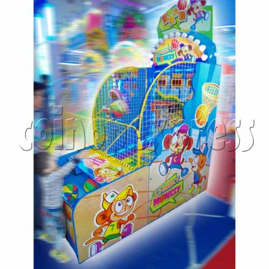 Cheeky Monkey Basketball Ticket Redemption Machine 26766