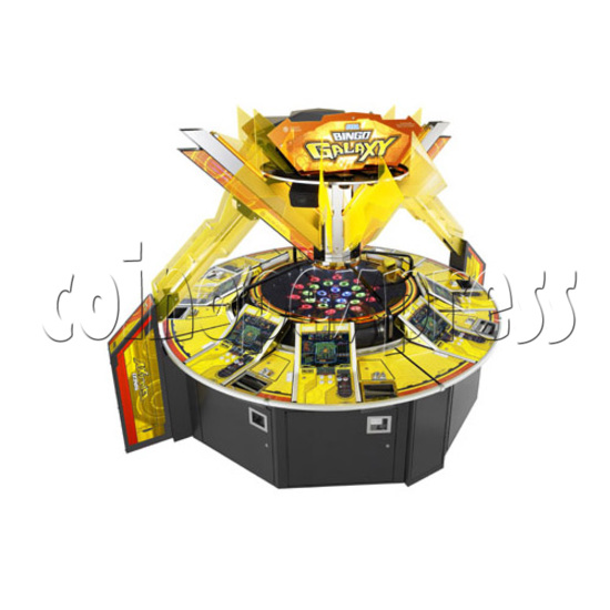 Bingo Galaxy SD Medal Game 26802