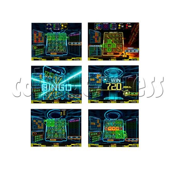 Bingo Galaxy SD Medal Game 26809