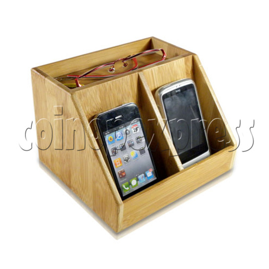 ECO-Friendly Bamboo Charger Station 26885
