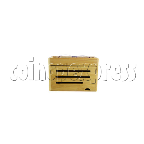 ECO-Friendly Bamboo Charger Station 26887